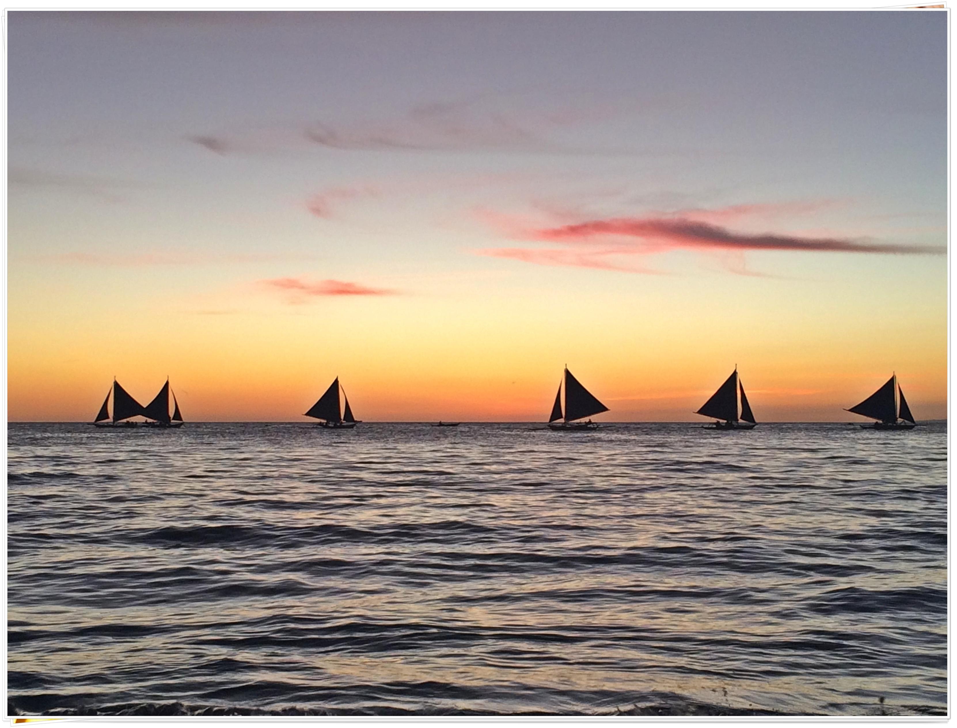 2015 Boracay Aklan Philippines (Boracay Sunset)