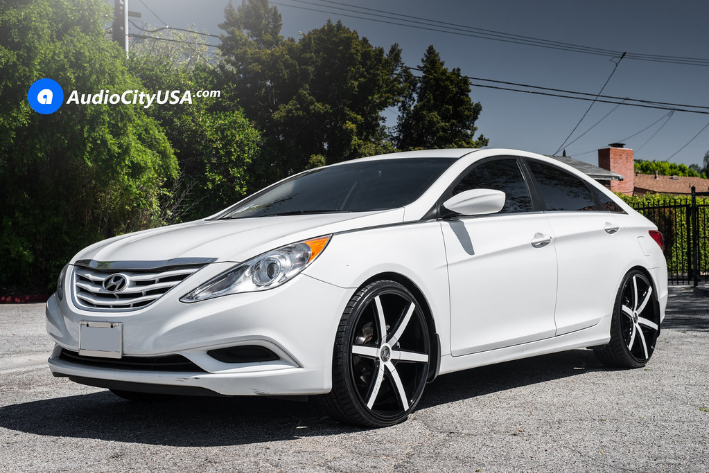 2013 Hyundai Sonata 22 Quot Lexani Wheels R Six Custom