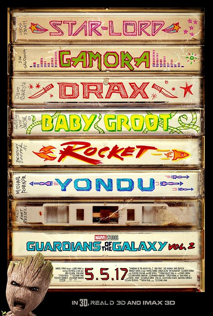 Guardians of the Galaxy Vol 2 (2017) poster 04