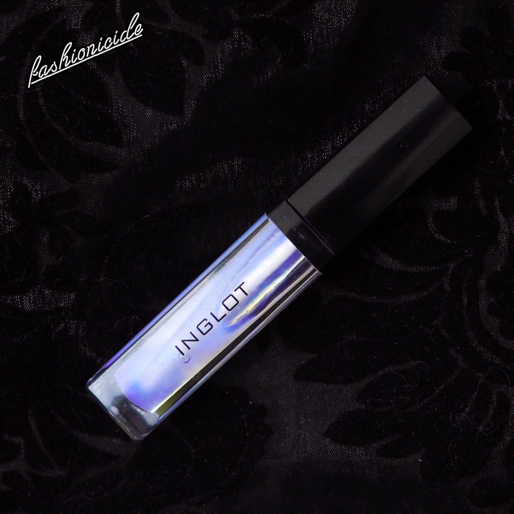 Inglot AMC Iridescent Lip Gloss 541 Swatch Sigma Lip Switch Transcend