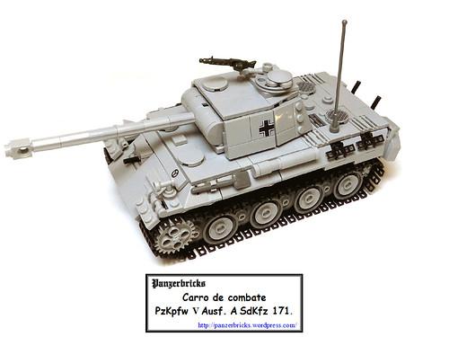 Panzer V Panther Ausf A (SdKfz 171) de Panzerbricks