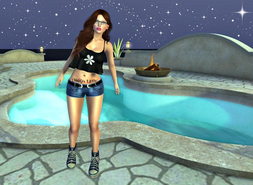 Pool & Stars