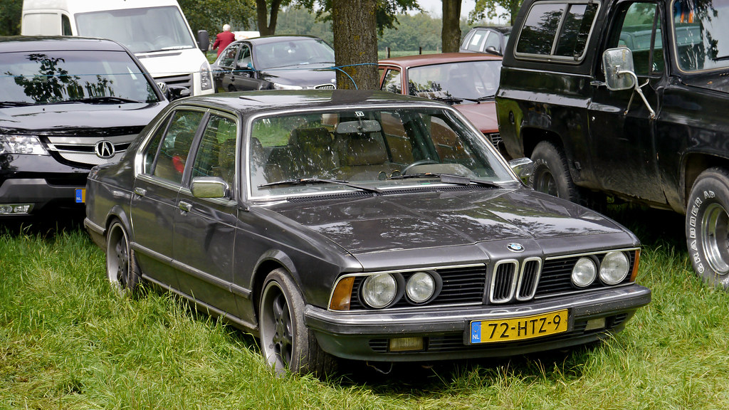 BMW 745i (E23, ph-1, 1980-83) ...sadly without original ri… | Flickr