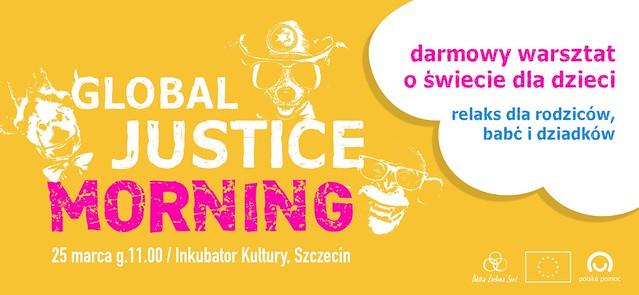Global Justice Morning w Szczecinie - warsztat dla dzieci