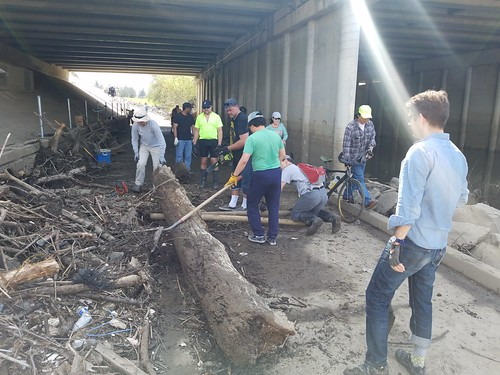 Guadalupe River Trail cleanup March 11 2017