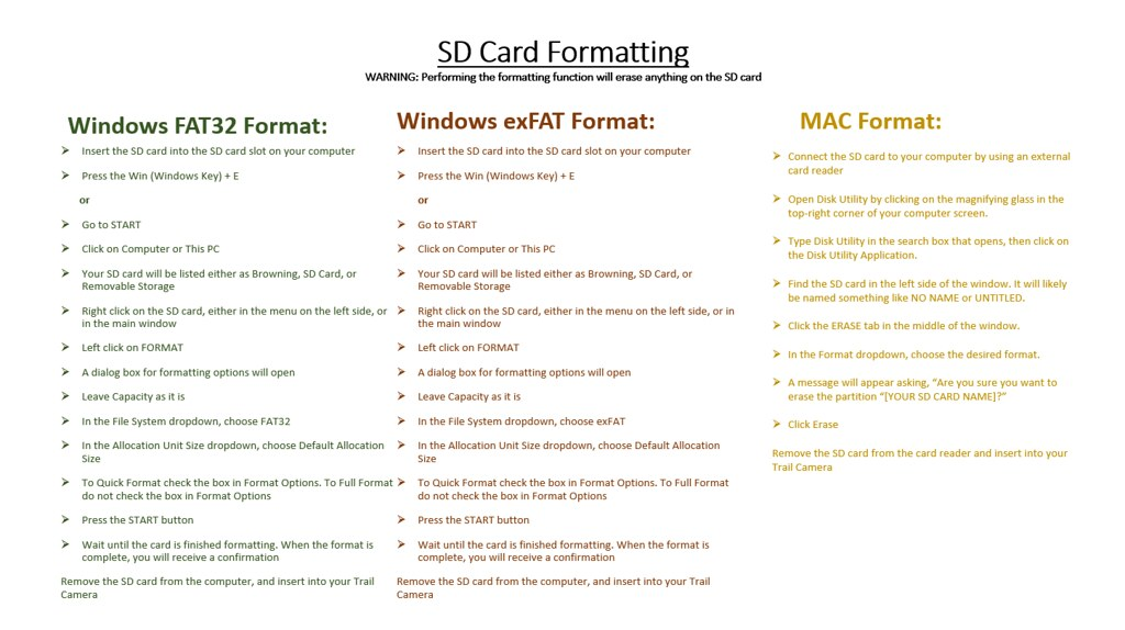 SD PC FORMAT