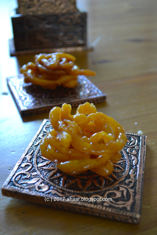 Making Jalebis - Indian sweet