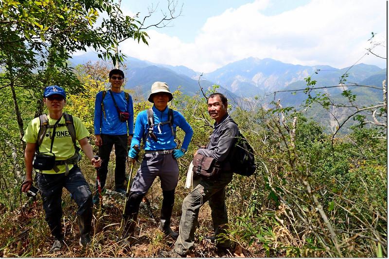 朗吾呂山稜線 4