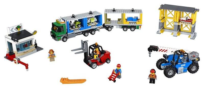 LEGO City Freight Terminal (60169)