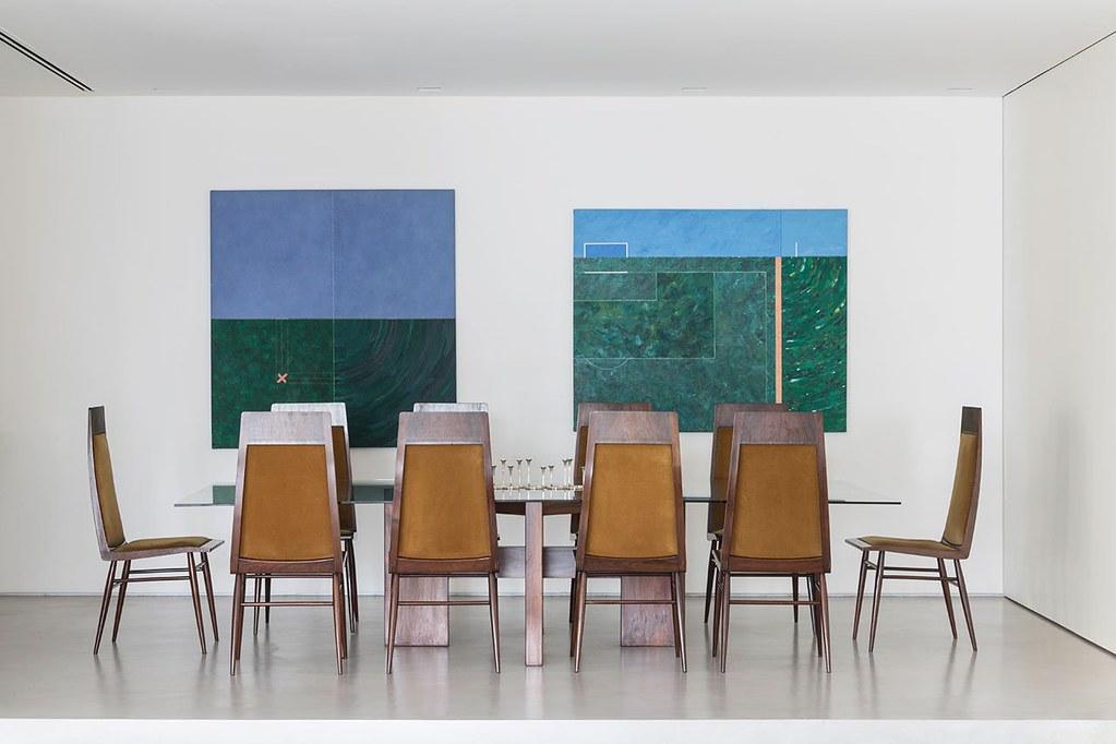 Apartment art in São Paulo by Brazilian architect Felipe Hess Sundeno_16