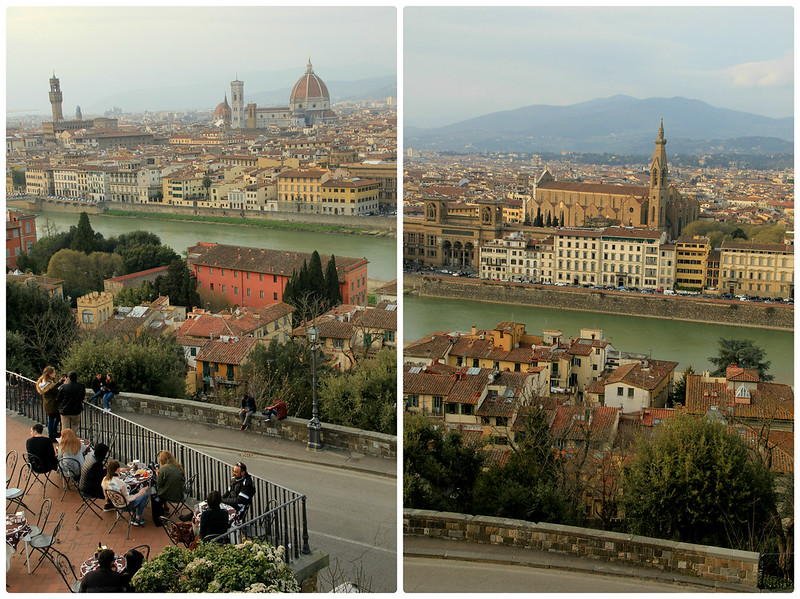 Views from Piazzale Michelangelo