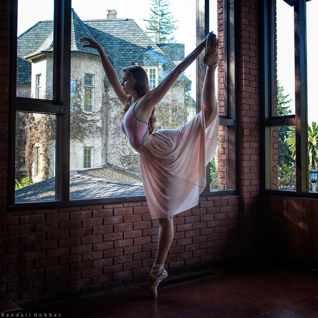 Greet The Morning Randall Hobbet Dancer Anica Lightbender Flickr