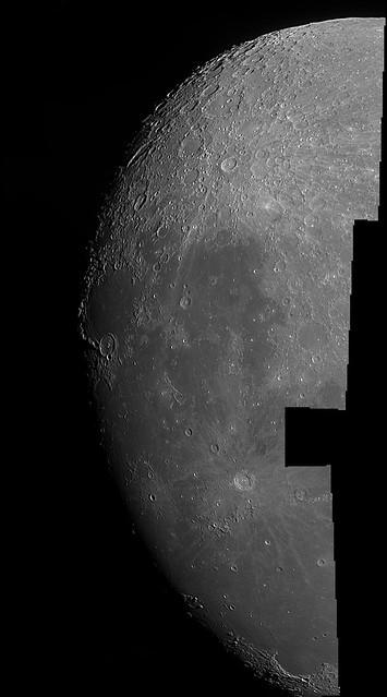 Terminador lunar 7/4/2017