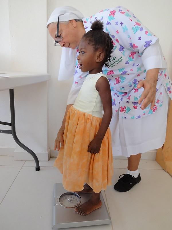 Programa de Nutrición en Haití