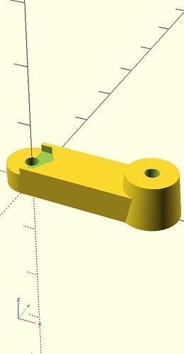 M.2 60mm to 80mm Bracket Render Top