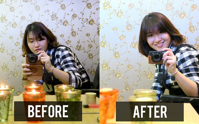 Beijing 101 hair before after