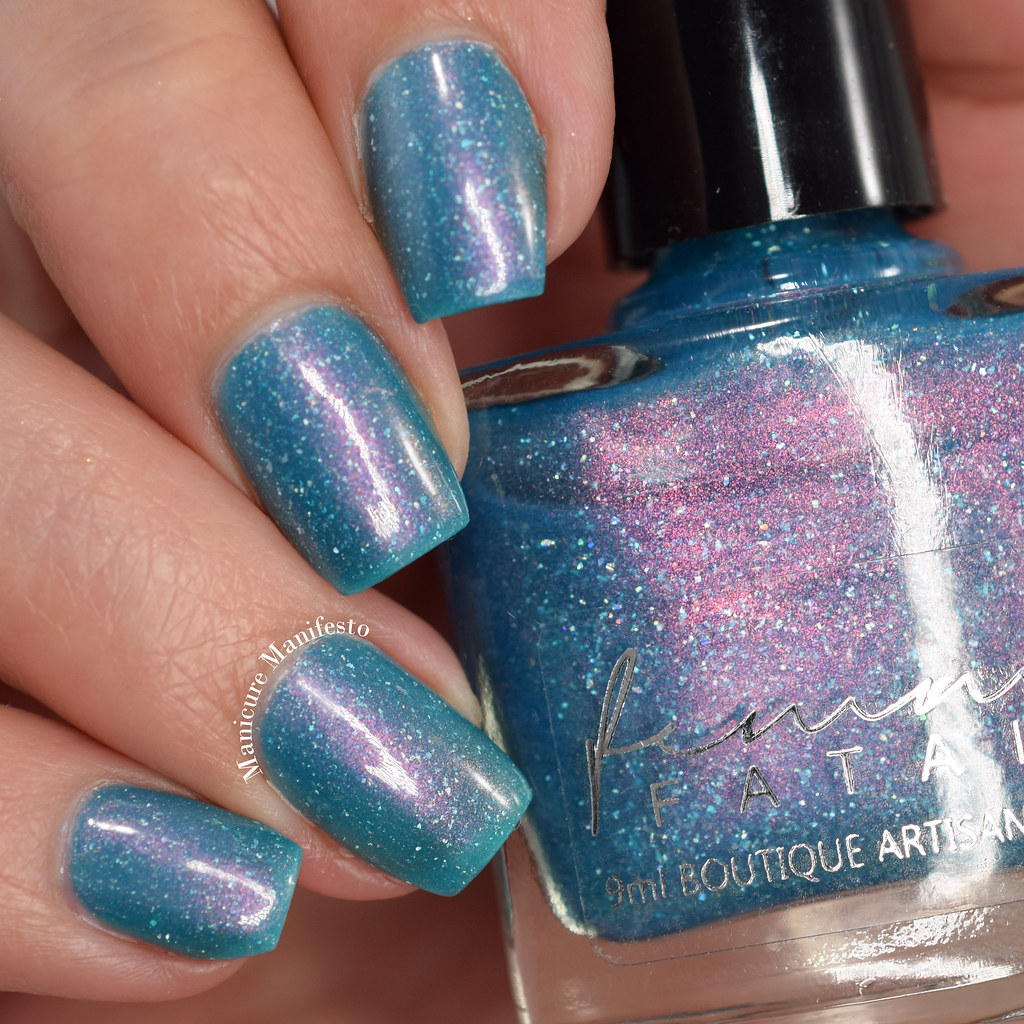Hypnotic polish exclusive rockpool whorl swatch