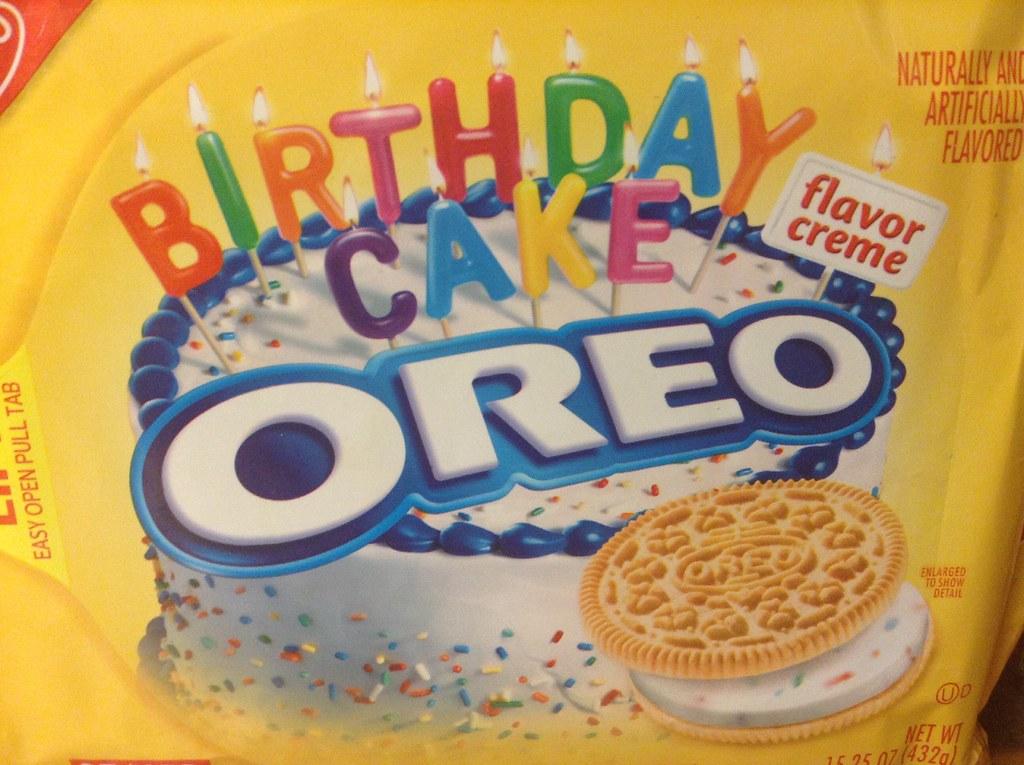 Oreo Birthday Cake Tesco