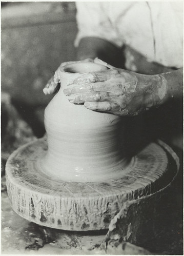 Pottery making | by Aalto University Library and Archive Commons
