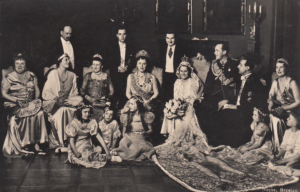 Rote >> 1938 Heirat Prinzessin Sophie von Sachsen-Weimar-Eisenach … | Flickr
