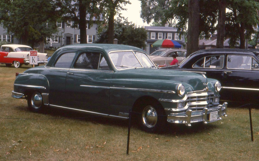 1949 Chrysler Windsor Club Coupe Richard Spiegelman Flickr