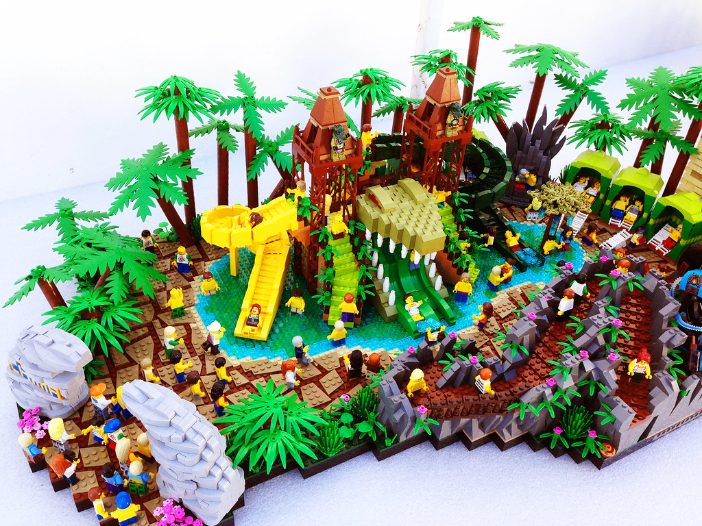 lego legends of chima water park croc swamp this is a bri flickr. Black Bedroom Furniture Sets. Home Design Ideas