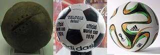 盘点:世界杯上的那些球