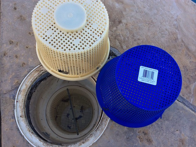 Do you sand down the skimmer basket or the lip on the pool for Sq1152 ao smith motor