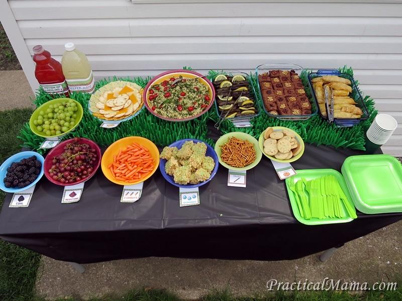 Minecraft Birthday Party Food Ideas