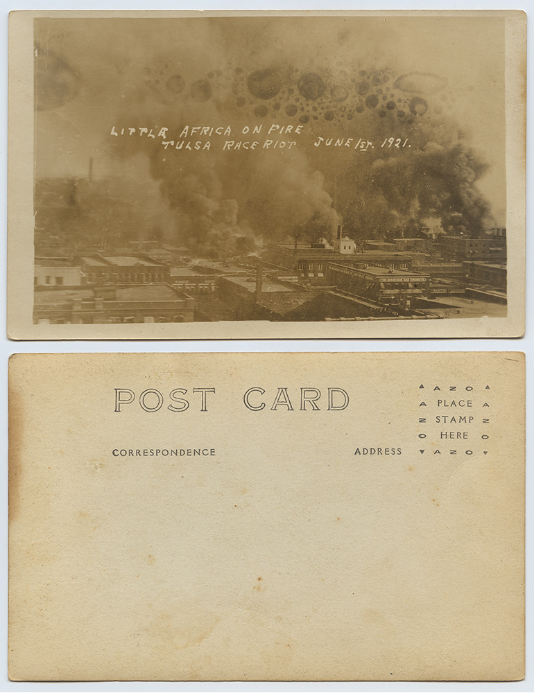 Little Africa on Fire Tulsa Race Riot, June 1st, 1921 | by SMU Libraries Digital Collections