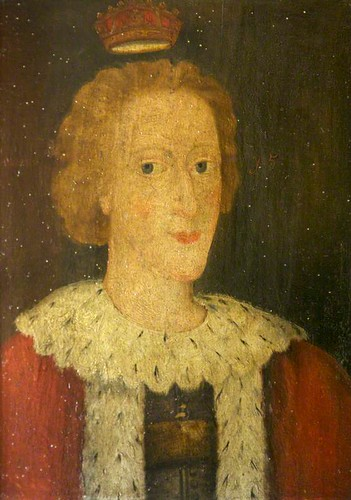 Posthumous Portrait of Edward V, King of England, Son of E ...