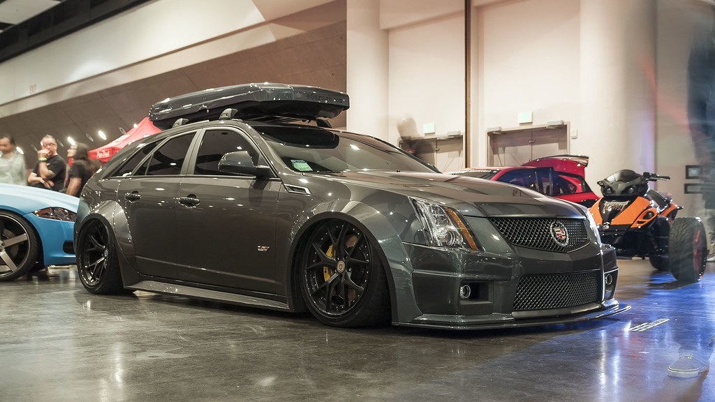 Slammed Cadillac Cts V Wagon Vim Chand Flickr