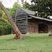 North Carolina, Greensboro, Tannenbaum Historic Park, Double-pen Barn (Relocated)