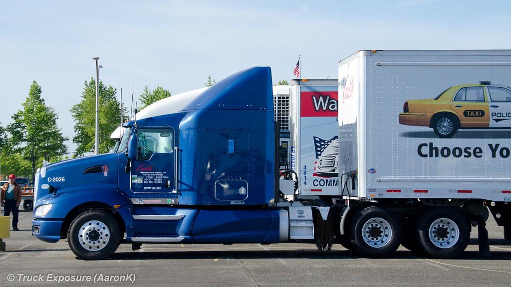 Carlile Transportation System Inc Kenworth T660 2014
