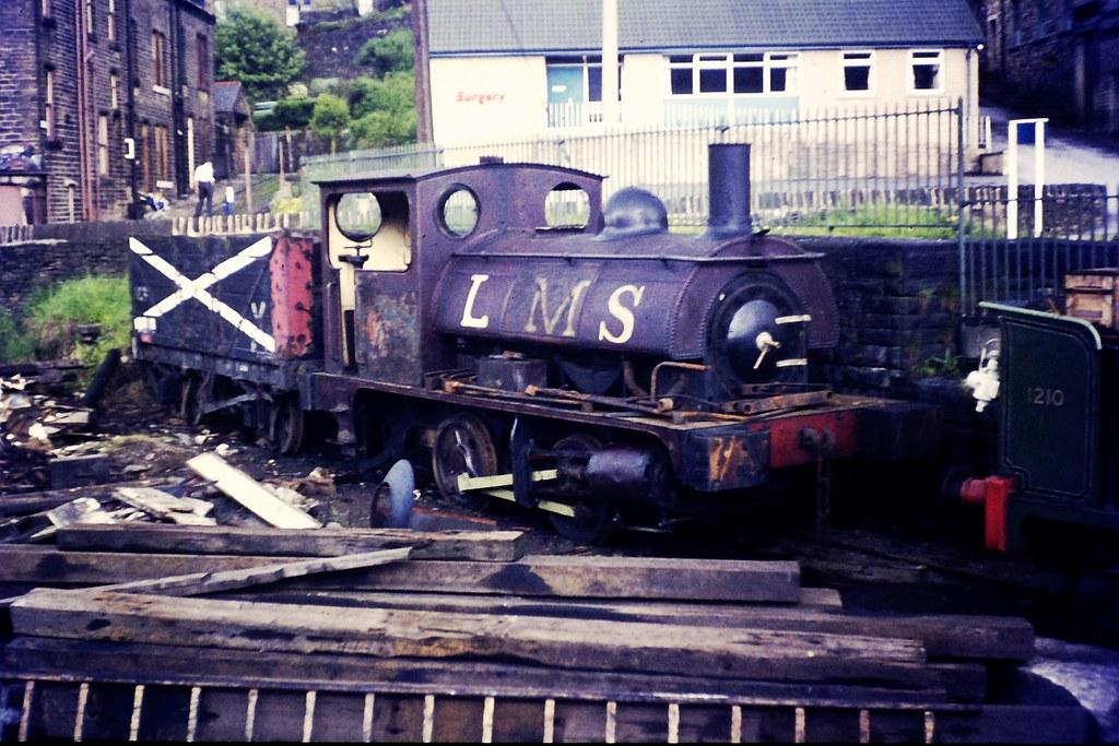 "L&Y/LMS Aspinall Class ""21"" 'Pug' 0-4-0ST No. 19 (LMS 1124 ...: http://www.flickr.com/photos/93456400@N04/14712151901/"