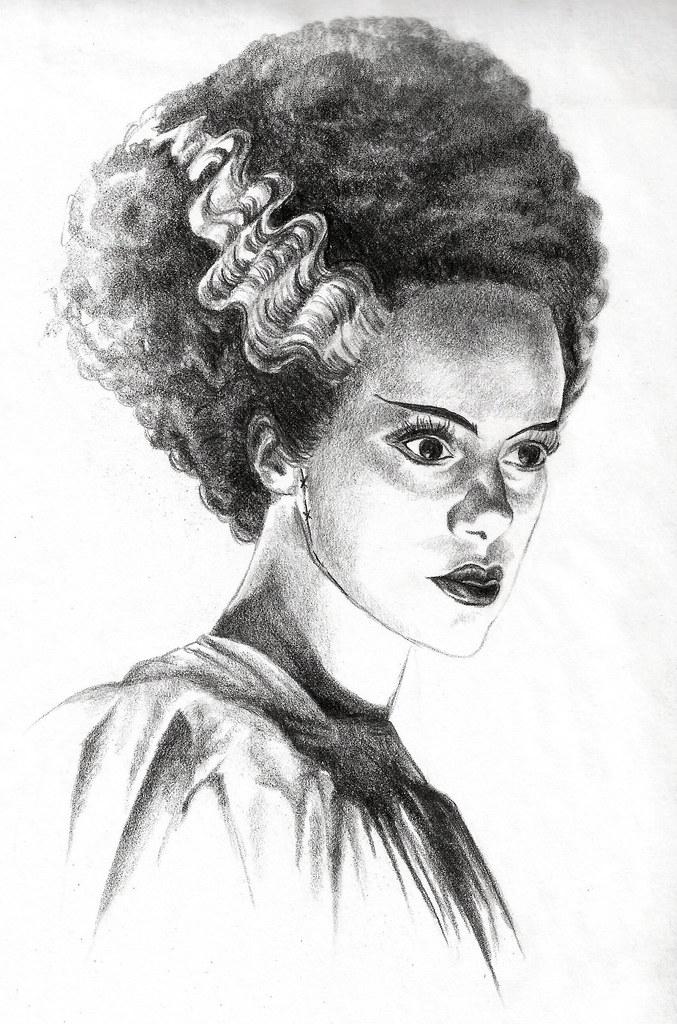 Jlightfootbride Of Frankenstein Bride Of Frankenstein Dra Flickr