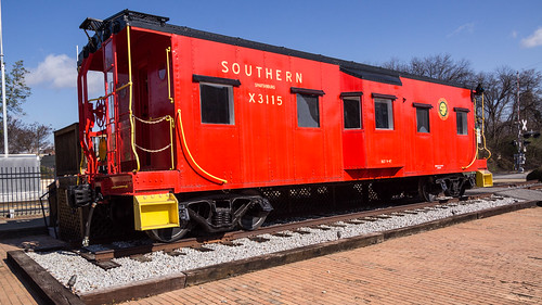 Southern X3115 caboose - 2