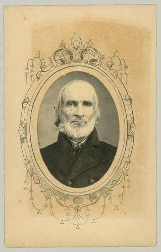 CDV portrait of bearded man