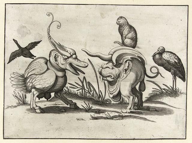 007- Dibujos grotescos - Arent van Bolten- Rijksmuseum