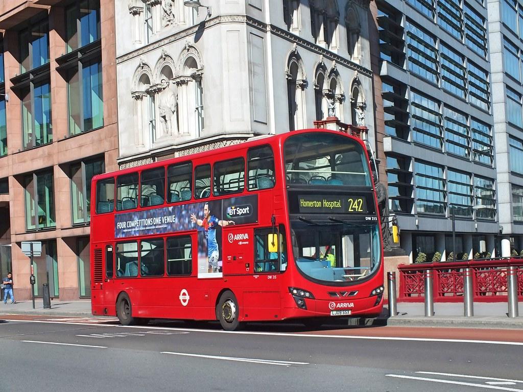 ... Waterford Man Arriva London - DW215 - LJ09SSX  9dea27ea580