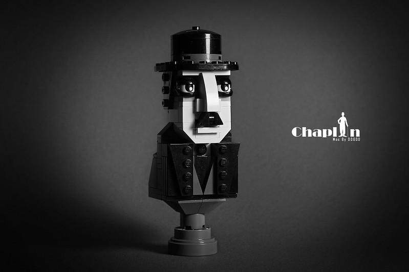 【狗神磚創Moc】卓別林人像 X Charles Chaplin