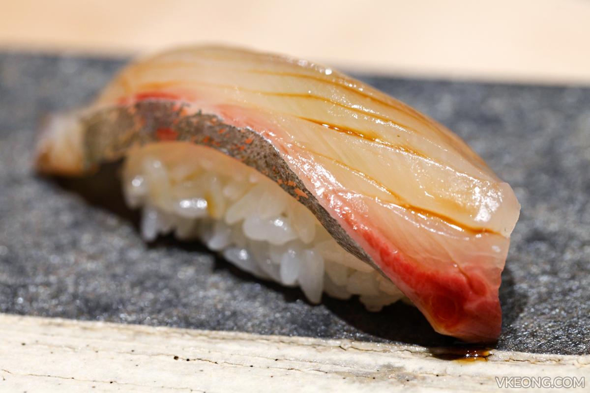 Sushi Azabu Saba Nigiri Sushi