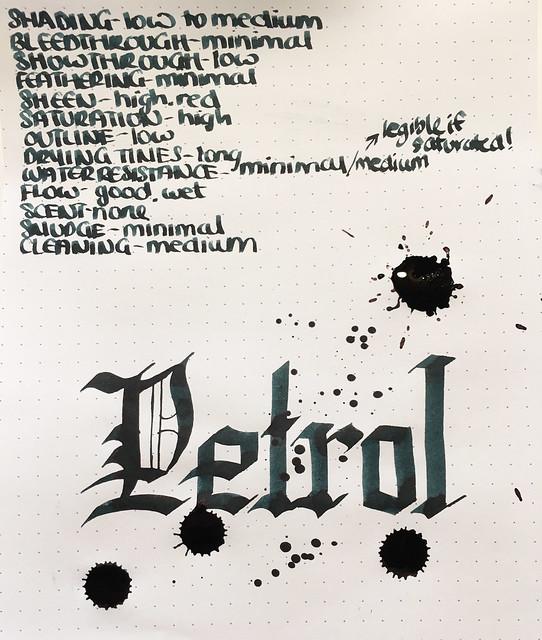 Ink Shot Review Lamy Petrol @Fontoplum0 @Lamy 8