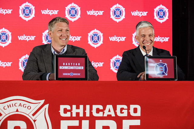 Bastian Schweinsteiger's Introductory Press Conference