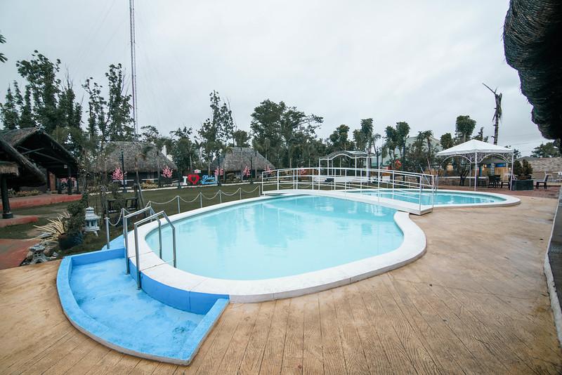 The pool at Balai Carmel