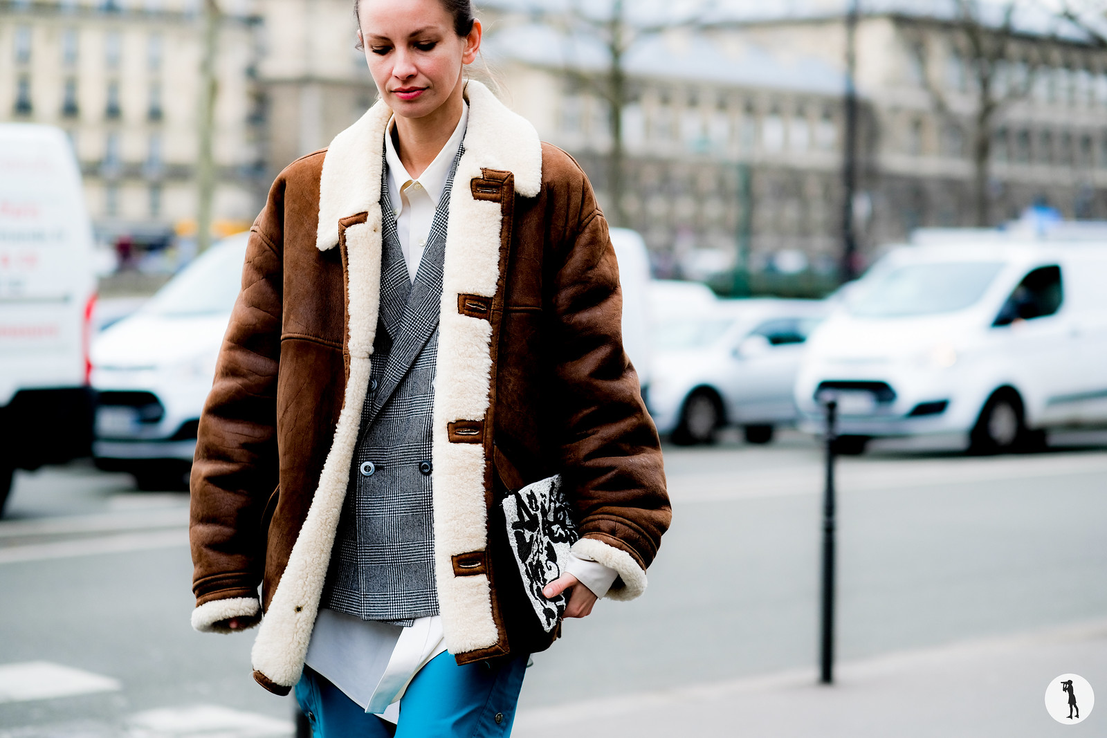 Clara Racz - Paris Fashion Week FW17-18. street style