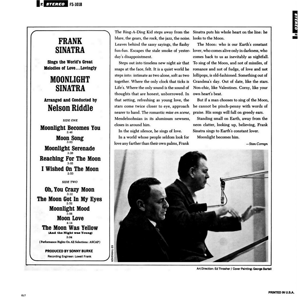 frank sinatra and nelson riddle relationship trust