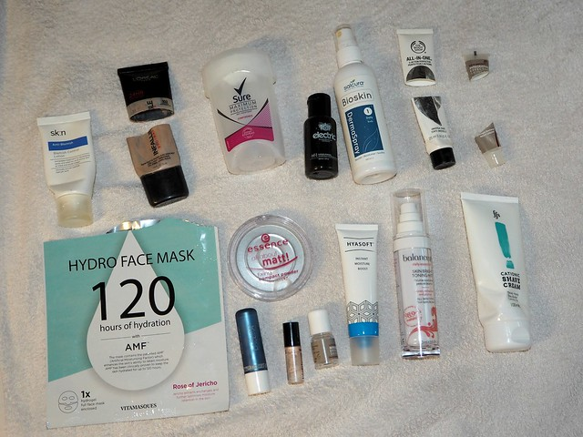 March Beauty Empties 2