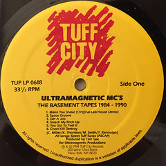 ULTRAMAGNETIC MC'S:THE BASEMENT TAPES 1984-1990(LABEL SIDE-A)