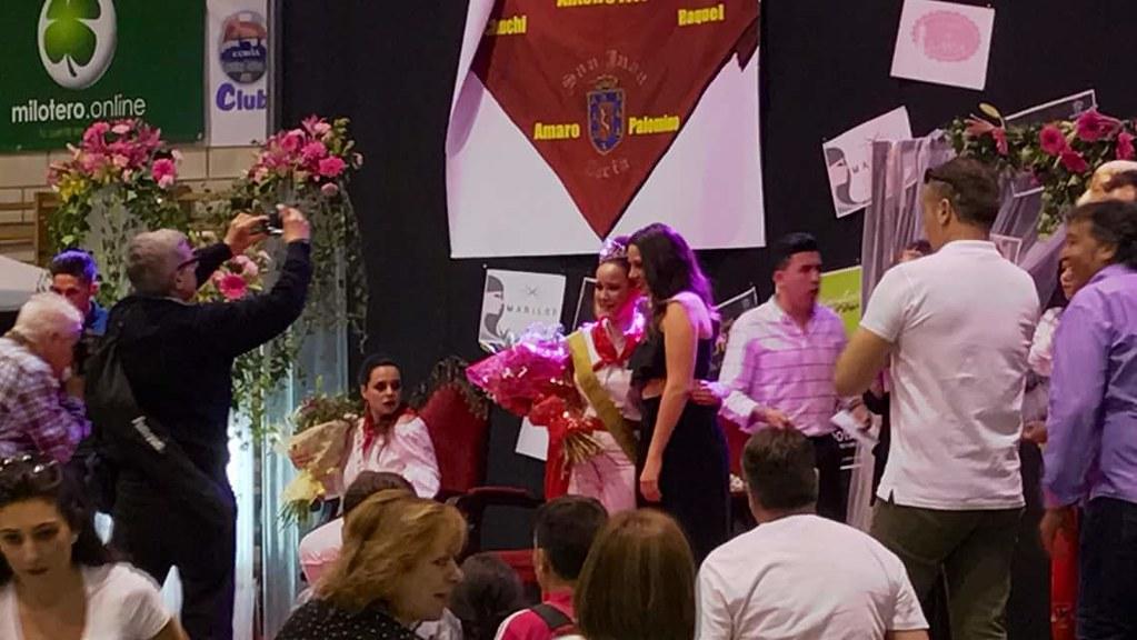 Nerea, Andrea y Jalima han sido elegidas Reina y Damas de San Juan 2017